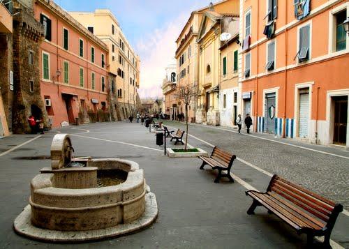 La vieille ville de civitavecchia places et glises un - Comment aller du port de civitavecchia a rome ...
