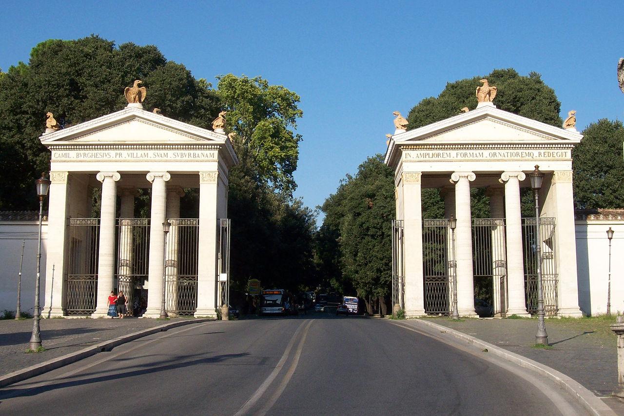 2 Roma_ingresso_Villa_Borghese