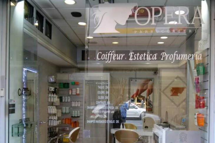 Opera parrucchieri il top dell hairdressing a roma port for Arredamento parrucchieri a roma